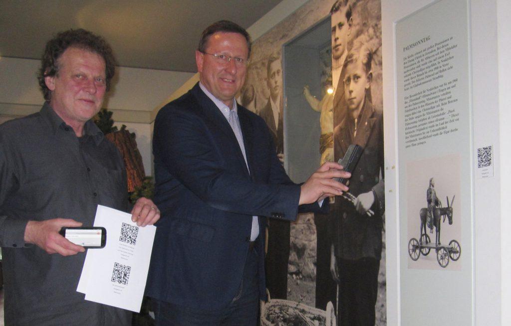 QR-Codes und Audioguides im Wallfahrtsmuseum