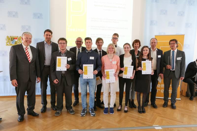 museum.de als externer Partner des P-Seminars vom Spessart-Gymnasiums Alzenau im Staatsministerium in München prämiert