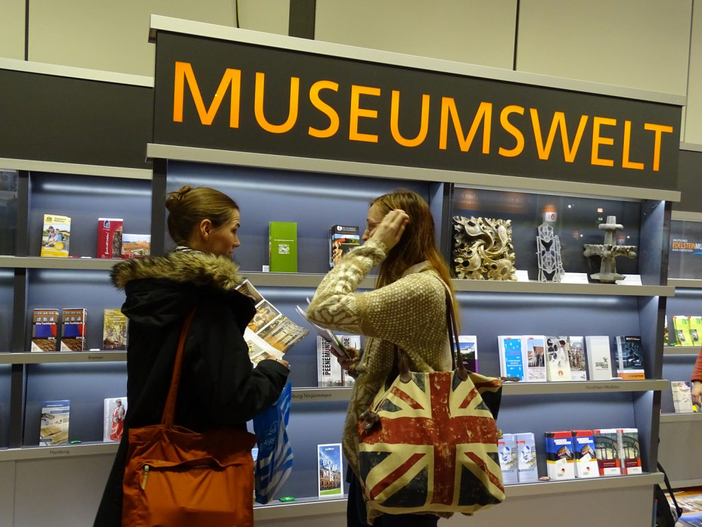 MUSEUMSWELT 2017 auf der ITB in Berlin