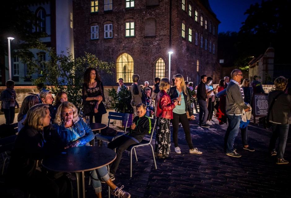 Museumsnacht im Museumsgarten (c) Kulturstiftung Hansestadt Lübeck, Foto: Olaf Malzahn