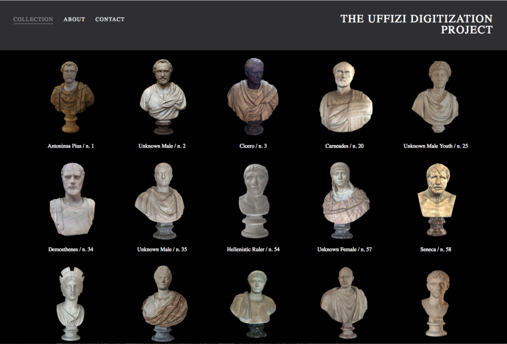 Das Uffizi Digitization Project