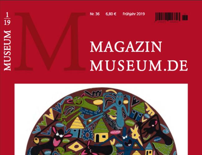 Magazin Museum.de Nr. 36, Frühjahr, April 2019