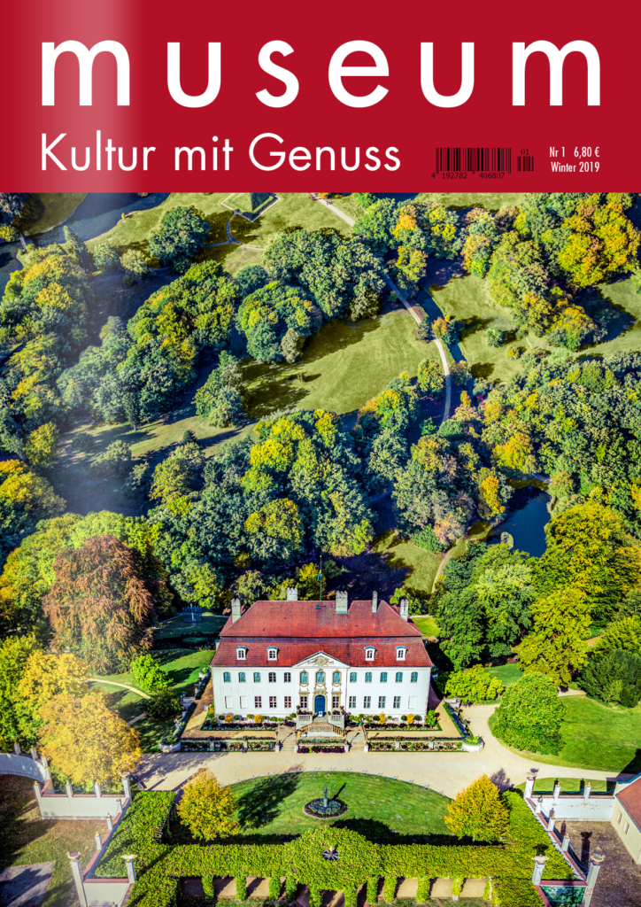 "Titelseite ""museum - Kultur mit Genuss"""