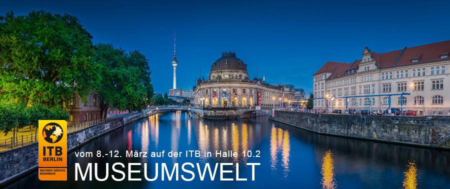 MUSEUMSWELT - Der Museums- Gemeinschaftsstand auf der ITB in Berlin