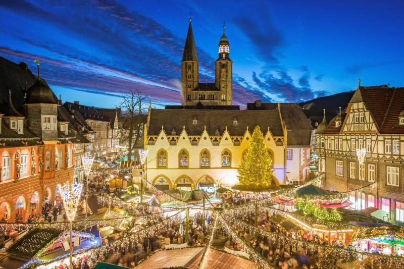 Wernigerode Weihnachtsmarkt.Im Schnellzugtempo Zum Weihnachtsmarkt Nach Wernigerode Goslar